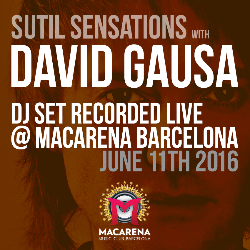 David Gausa live DJ Set in Macarena